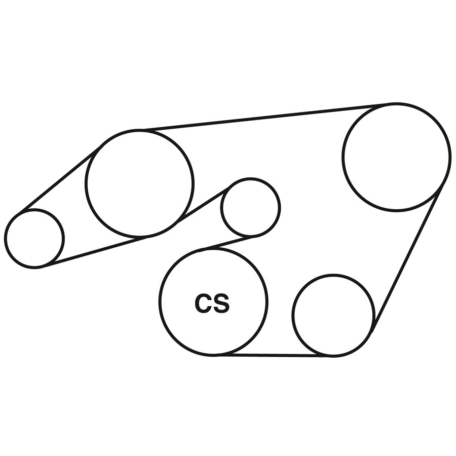 mercedes e300d drive belt routing diagram