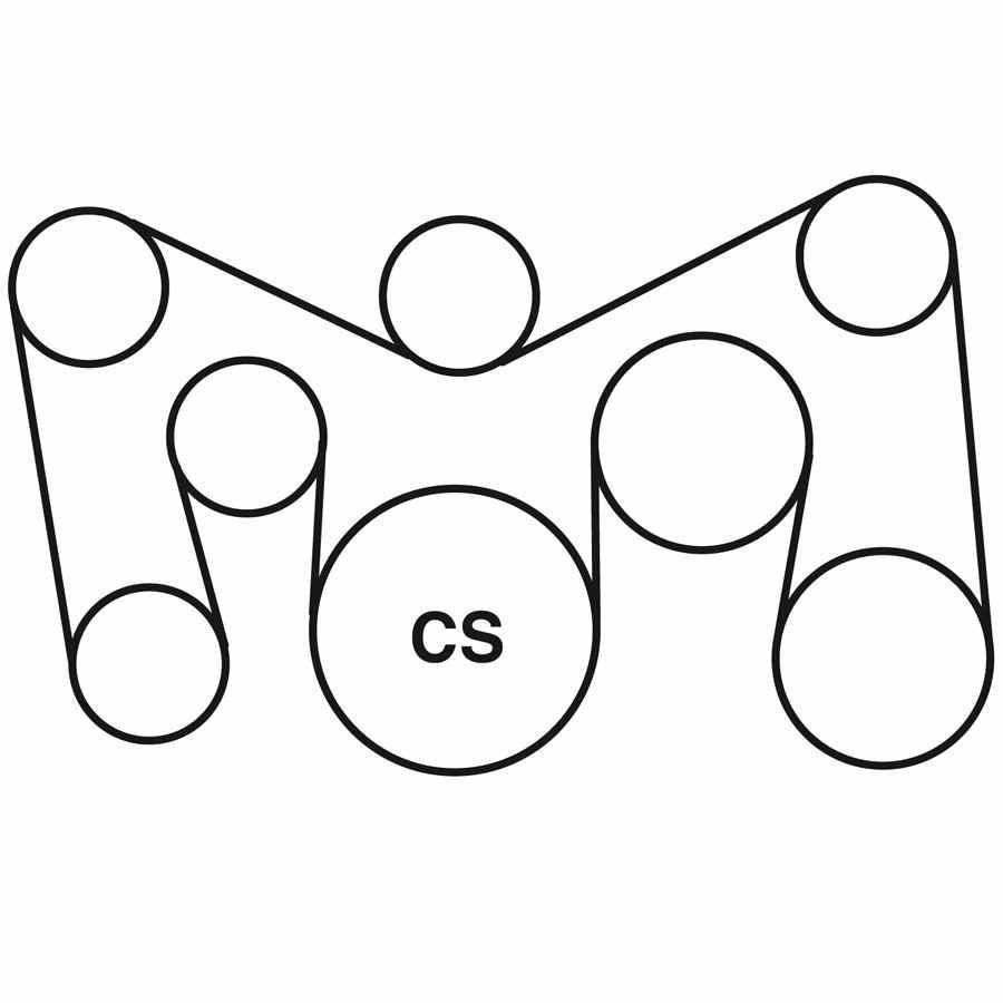 saab 900 belt routing diagram