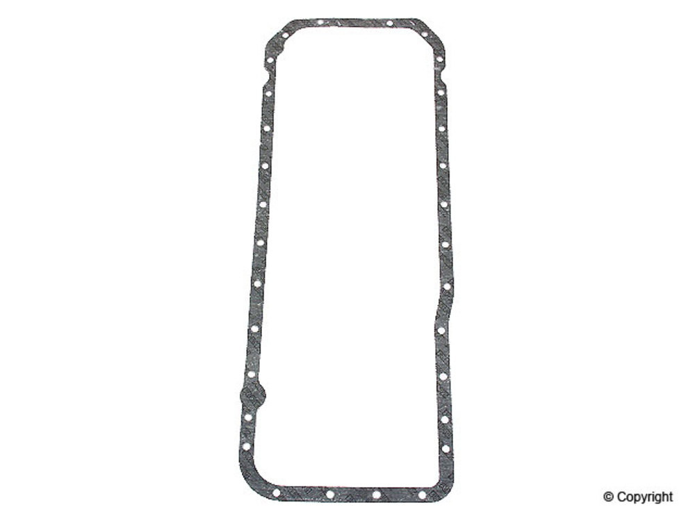 engine oil pan gasket fits 1970 1980 mercedes benz 450sel
