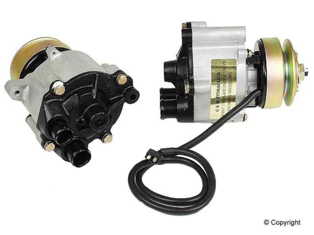 c m air pump fits 1981 1991 mercedes benz 420sel 560sec