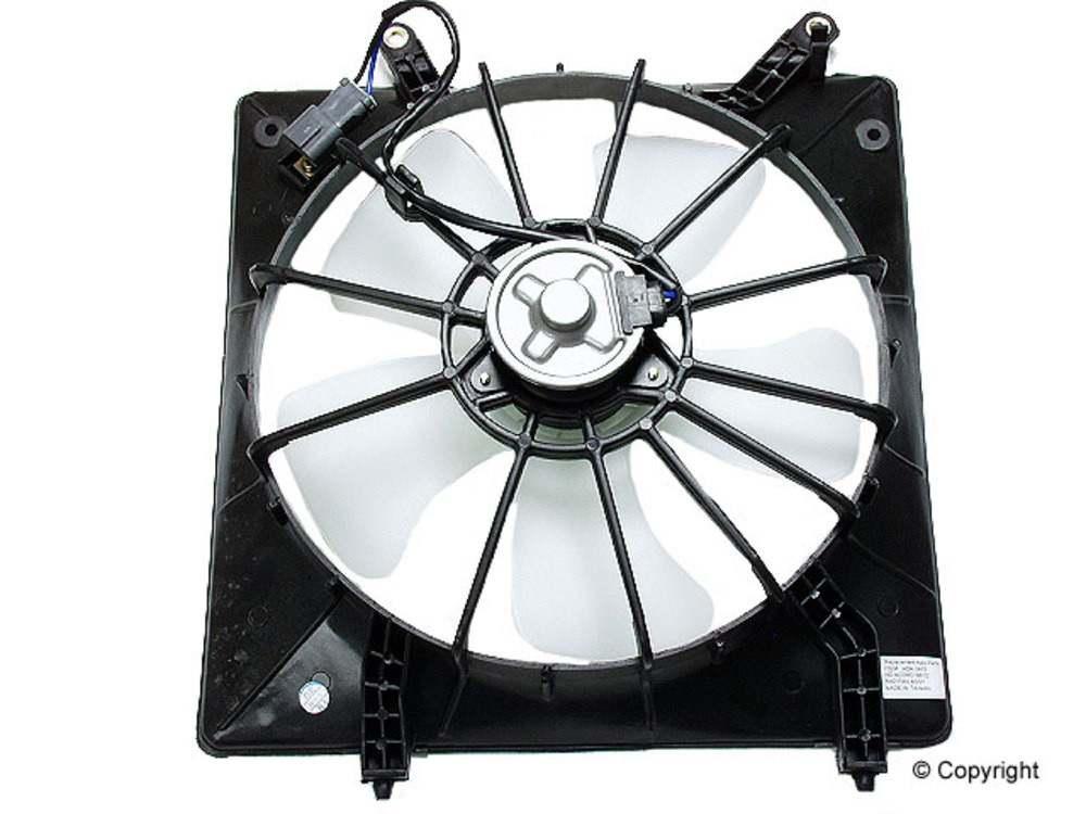 02 Cool Fan : Engine cooling fan assembly performance fits honda