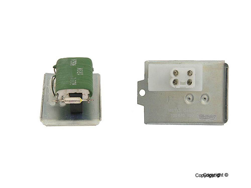 Meyle hvac blower motor resistor fits 1985 1995 volkswagen for Vw passat blower motor resistor