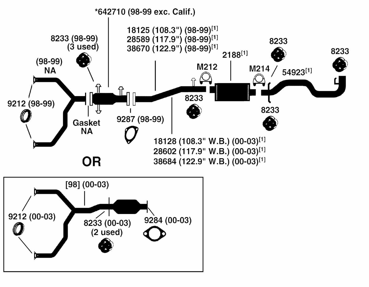 Chevy Cavalier Exhaust System Diagram Chevy Free Engine