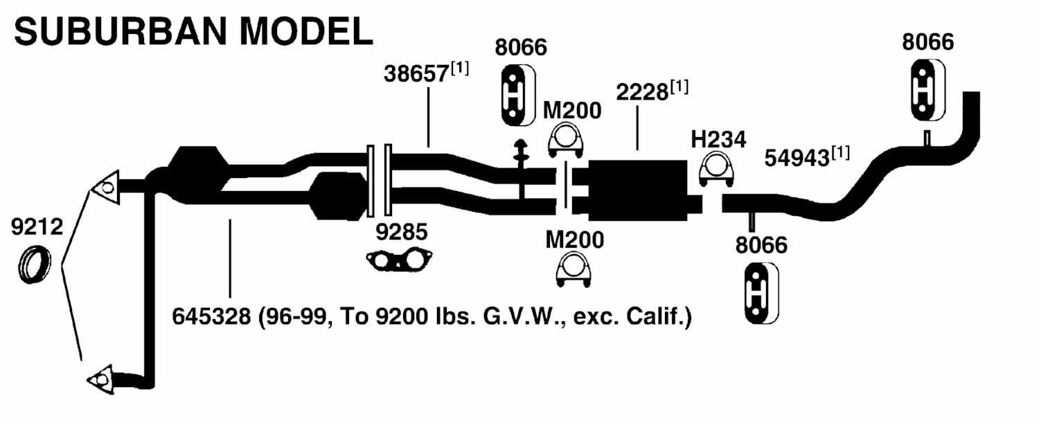 1997 Chevy Suburban Engine Diagram http://www.bestvalueautoparts.com/Replacement_Parts/GMC/SUBURBAN_C1500_1_2TON4x2/Illust_Ref_c_Exhaust.html