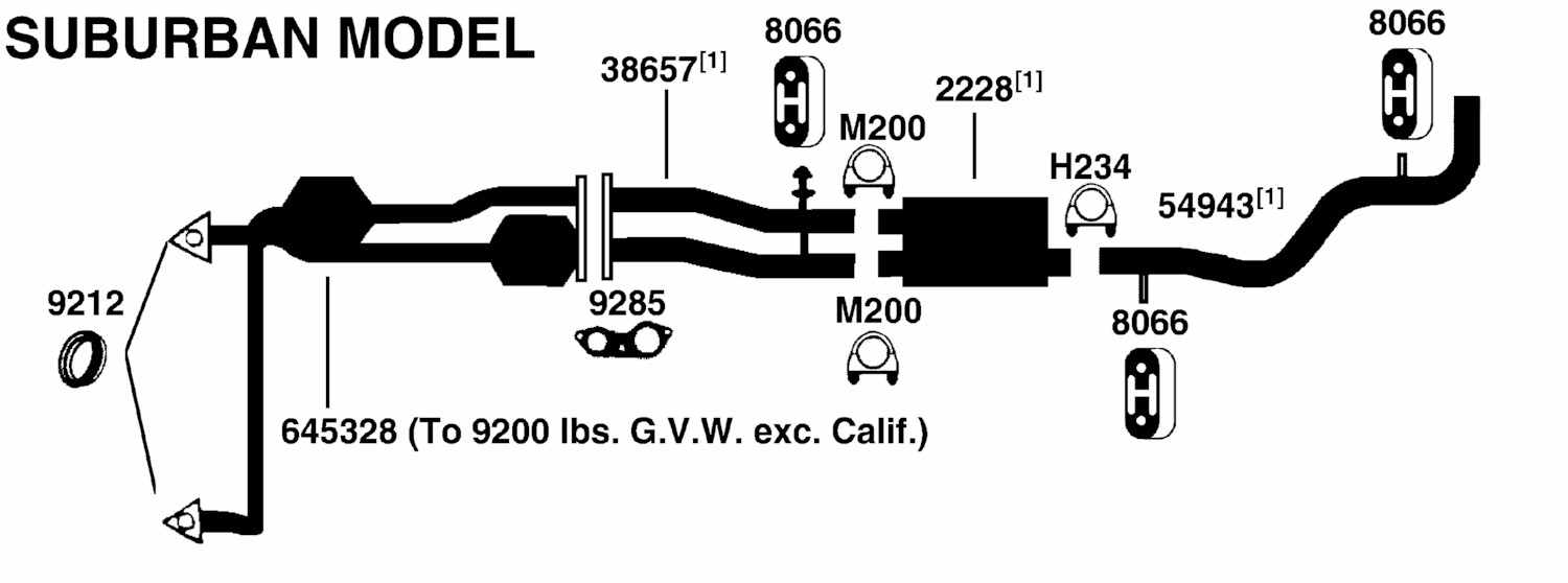 Illust Ref c Exhaust on 1999 chevy suburban 4x4