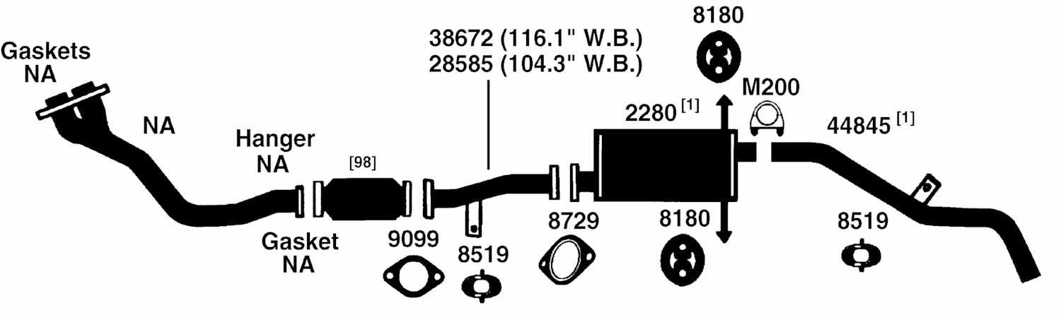 100130 nissan datsun frontier exhaust diagram from best value auto parts 2006 Nissan Frontier Engine Diagram at nearapp.co
