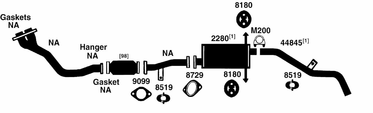 Nissan Datsun Frontier Exhaust Diagram From Best Value Auto Parts