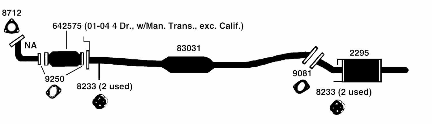 404045 Pcv Hose Turbo Vac Line moreover 280947284336 together with 4tfc0 Noticed Evap Obd Canister Closed Valve Ticking Engine in addition Watch as well 608935 New Exhaust Suggestions Anybody. on 2003 camry exhaust system diagram