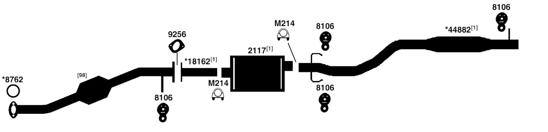 2004 buick rendezvous exhaust diagram house wiring diagram symbols u2022 rh maxturner co