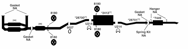 toyota sienna exhaust diagram from best value auto parts rh bestvalueautoparts com 2004 toyota sienna exhaust diagram 2004 toyota sienna exhaust diagram