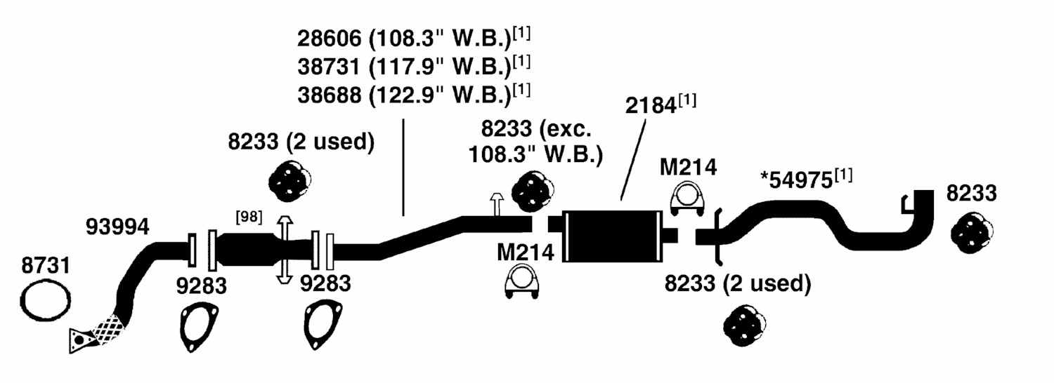 Gmc Pickup Sonoma S15 T15 Exhaust Diagram From Best Value
