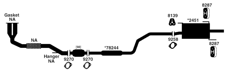 100628 nissan datsun sentra exhaust diagram from best value auto parts