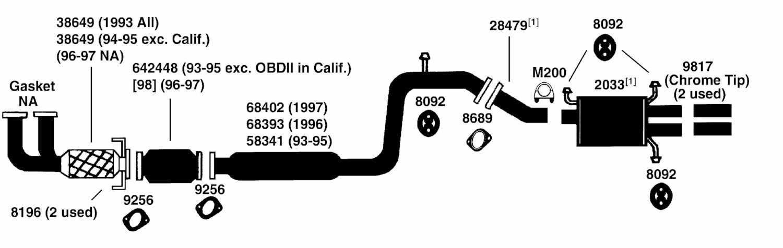 mazda b2200 engine exhaust diagram  mazda  free engine mazda b2200 exhaust system mazda b2200 exhaust system