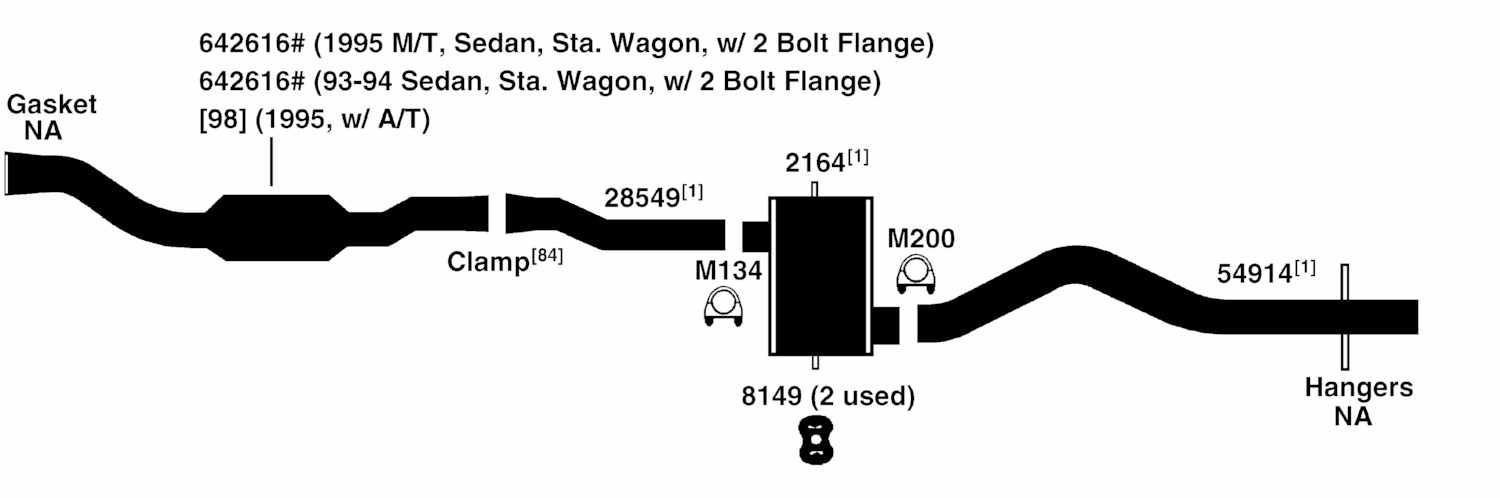 volvo 850 exhaust diagram from best value auto parts rh bestvalueautoparts com volvo 850 exhaust system volvo 850 turbo exhaust system