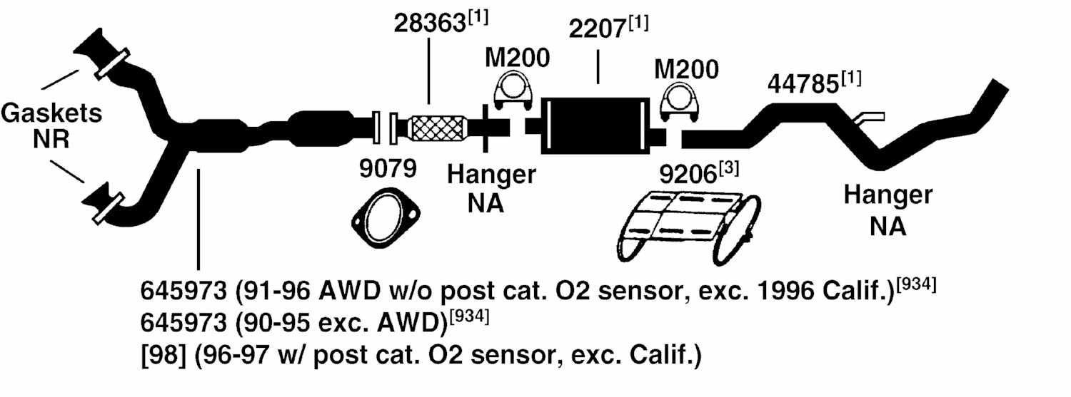 ford aerostar exhaust diagram from best value auto parts ford aerostar fuse box location 1997 ford aerostar exhaust diagram