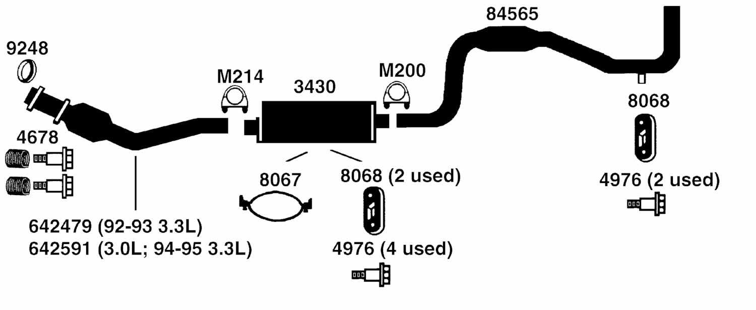 ford focus exhaust system diagram  ford  free engine image