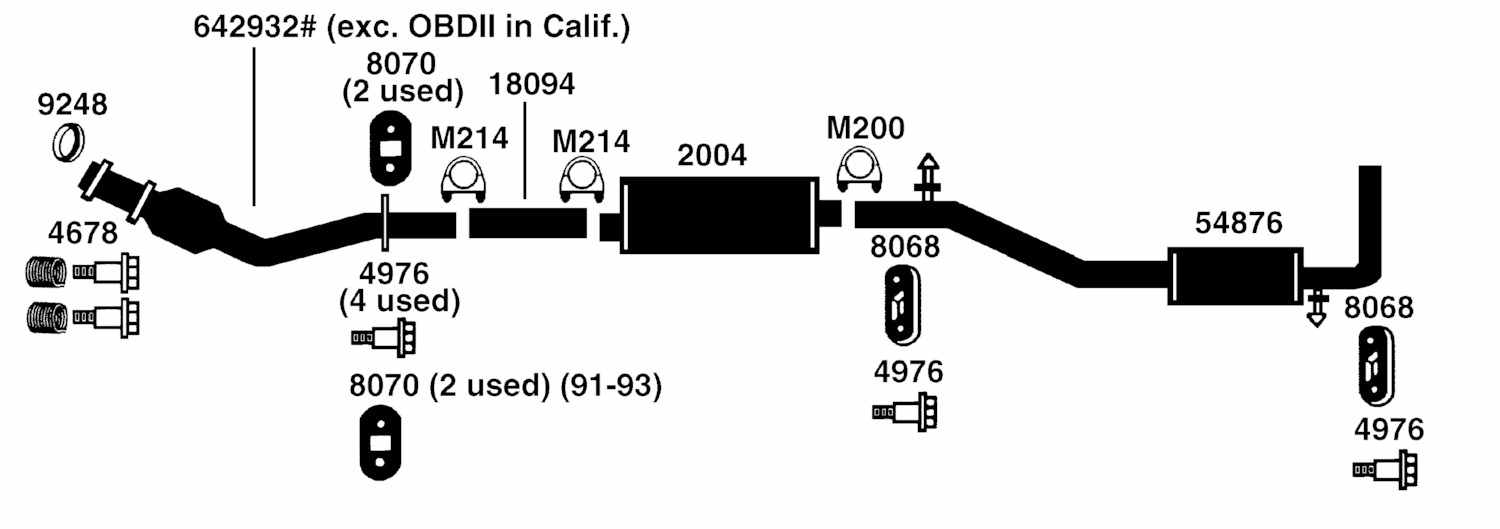2004 Sebring Exhaust System Diagram on 1993 pontiac grand prix fuse diagram