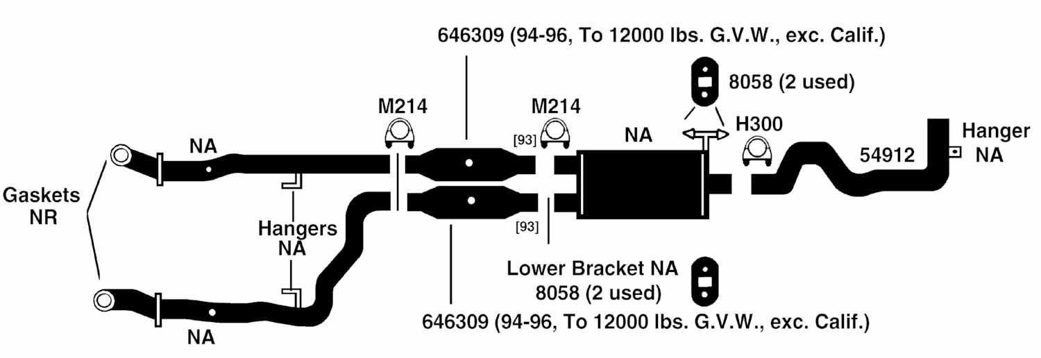 Dodge Pickup Ram 2500 Exhaust Diagram From Best Value Auto