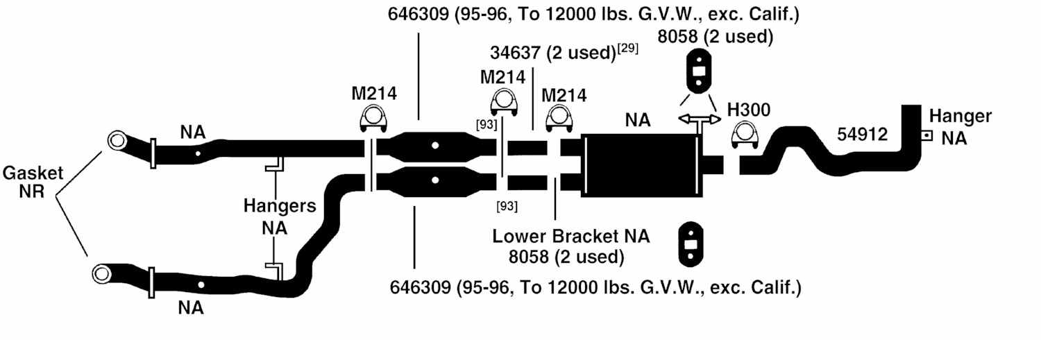 Dodge Pickup Ram 3500 Exhaust Diagram From Best Value Auto Partsrhbestvalueautoparts: 1995 Dodge V1 0 Engine Wiring Diagram At Gmaili.net