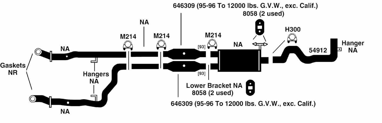 Schematic For 1997 Dodge Ram Exhaust - Block And Schematic Diagrams •