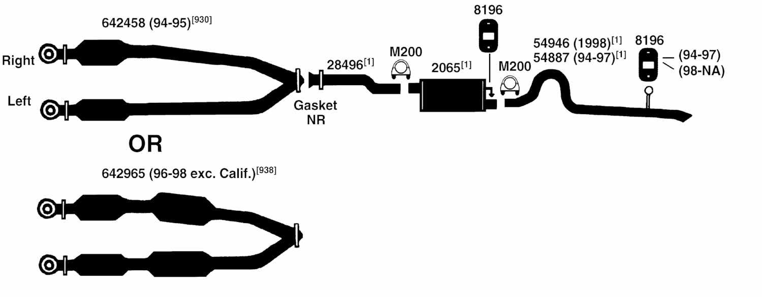 2000 Ford Mustang Exhaust System Diagram on 2002 ford ranger engine diagram