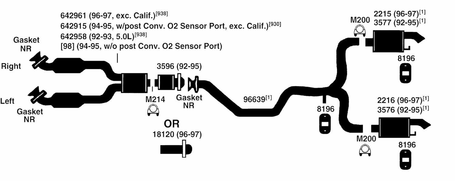 1997 Ford Escort Exhaust Diagram