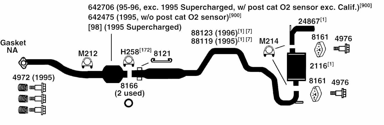 Buick Park Avenue Exhaust Diagram From Best Value Auto Parts