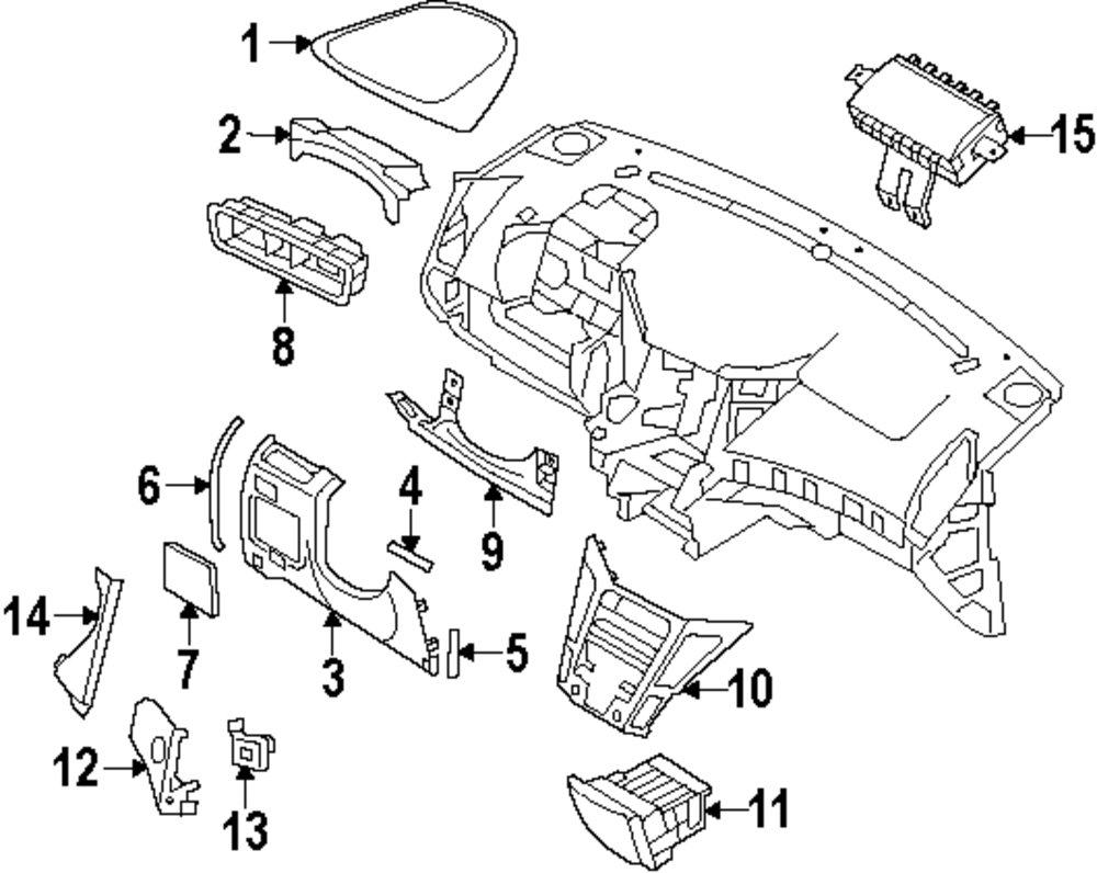 Mopar Direct Parts Dodge Chrysler Jeep Ram Wholesale Retail A Body Fuse Box Genuine Hyundai Cover Hyu 847563s000ras