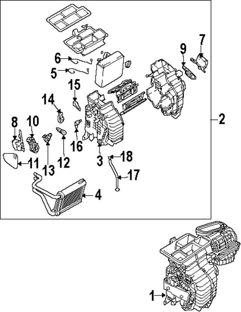 2006 pontiac torrent heater diagram