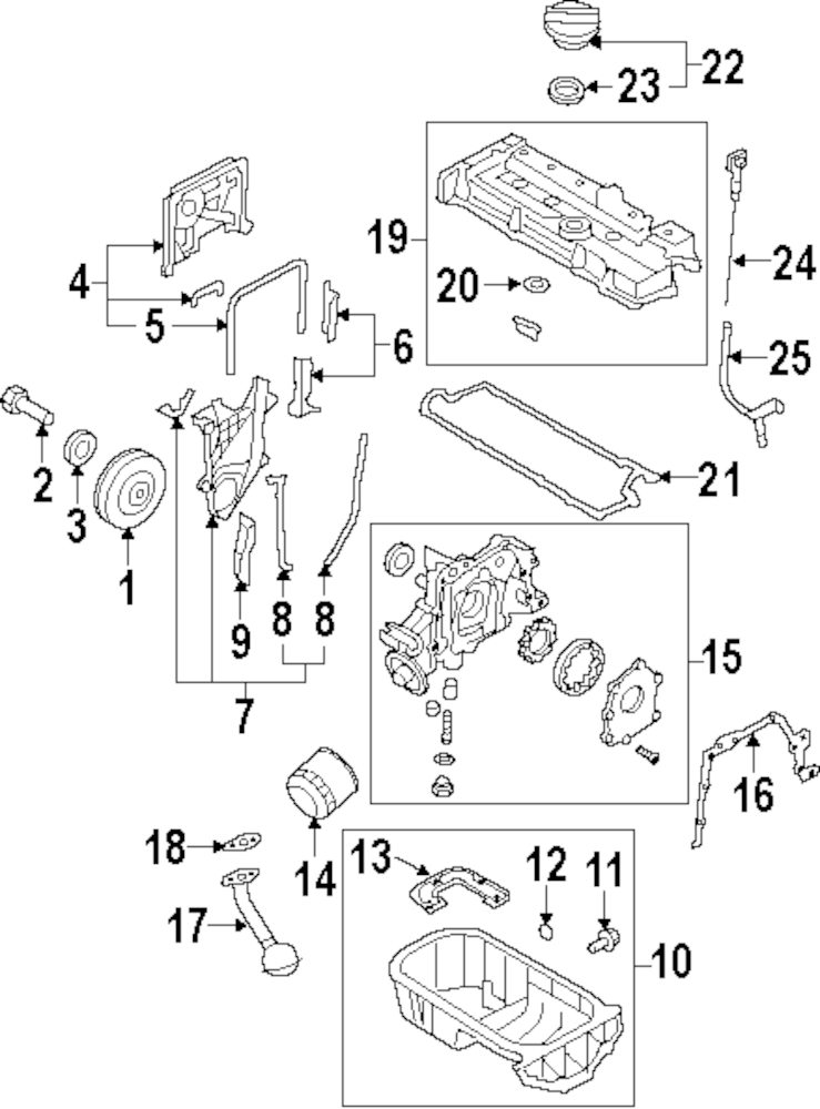 Engine Parts For Ford