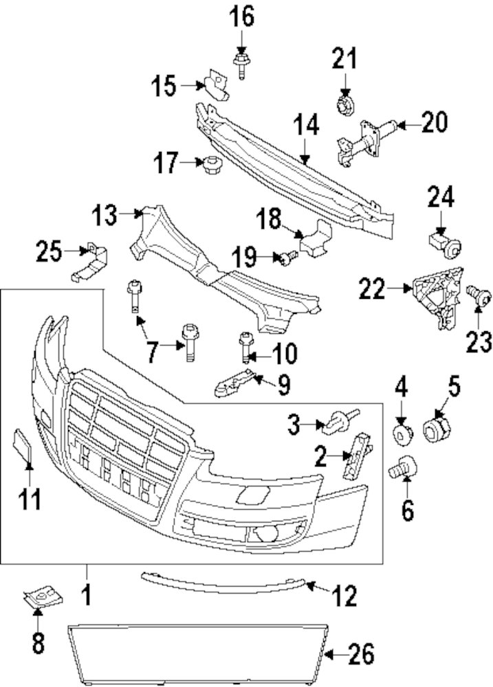 2011 audi parts diagram  audi  auto parts catalog and diagram