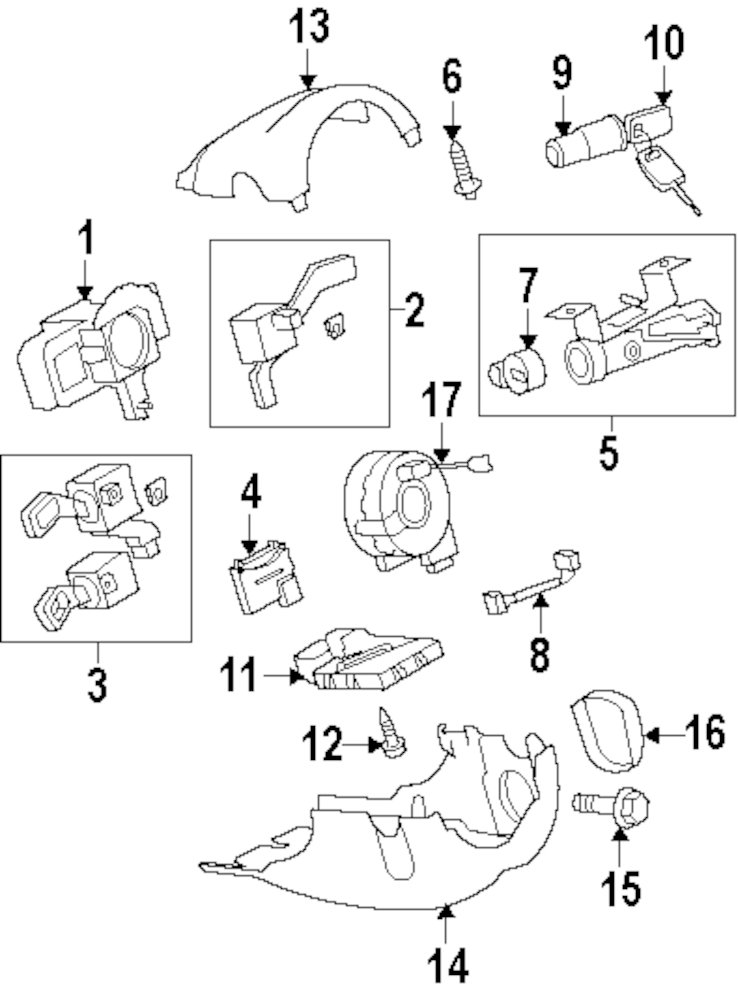 Diagram Of Chrysler Lock Cyl