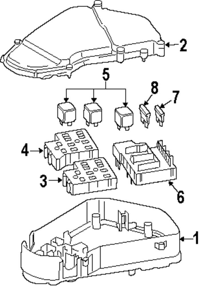Genuine Audi Mini Fuse Aud N01713113: Audi Q7 Fuse Box At Hrqsolutions.co