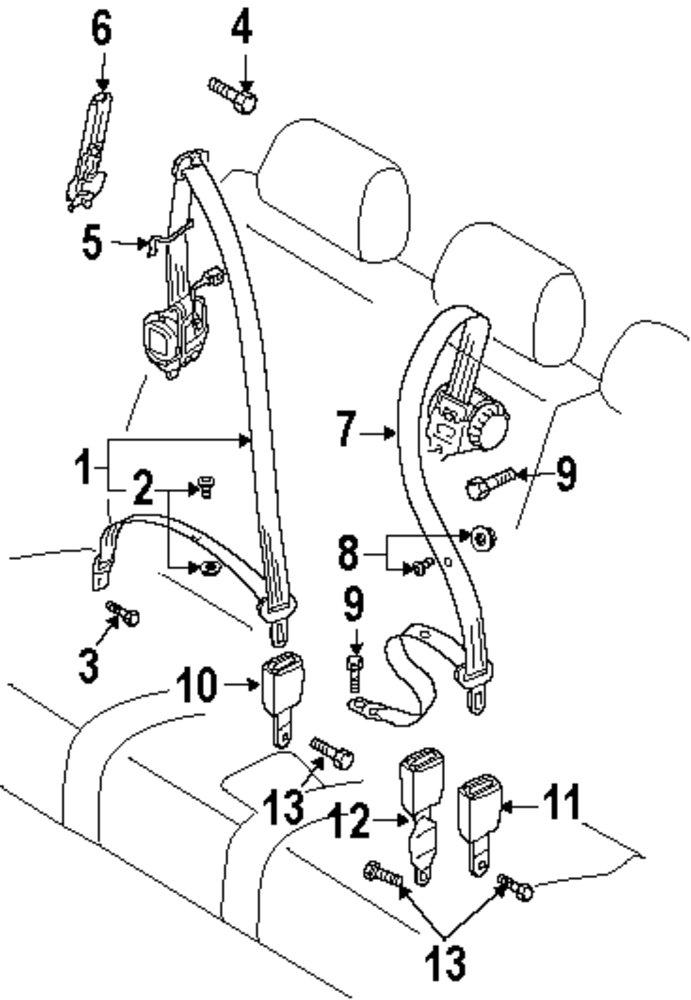 Audi Seat Diagram