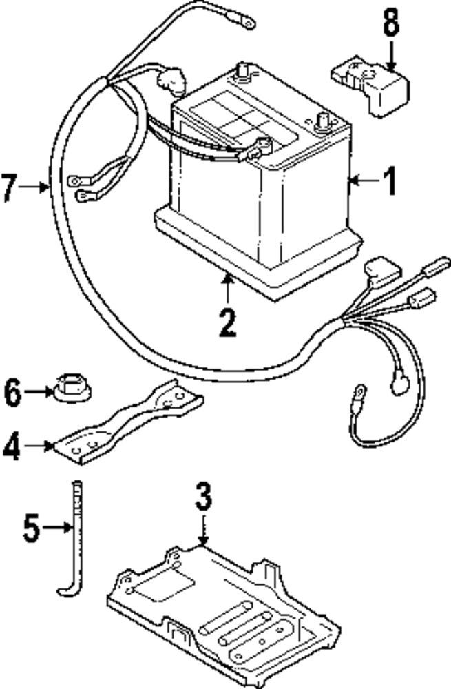 mopar direct parts dodge chrysler jeep ram wholesale retail parts 1998 Suzuki Vitara genuine suzuki battery tray nut suz 083611506a