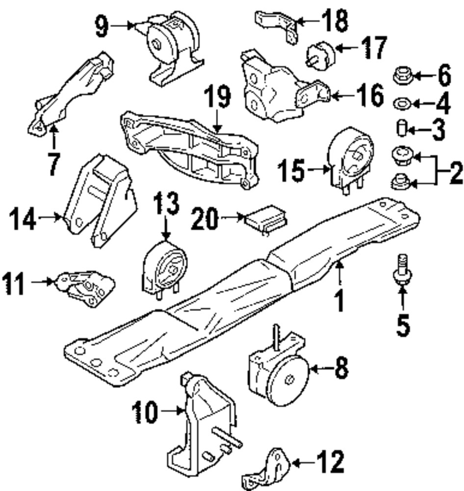 browse a sub category to buy parts from mopardirectparts com rh mopardirectparts com Suzuki Aerio Exhaust Diagram 2003 Suzuki Aerio Serpentine Belt Diagram