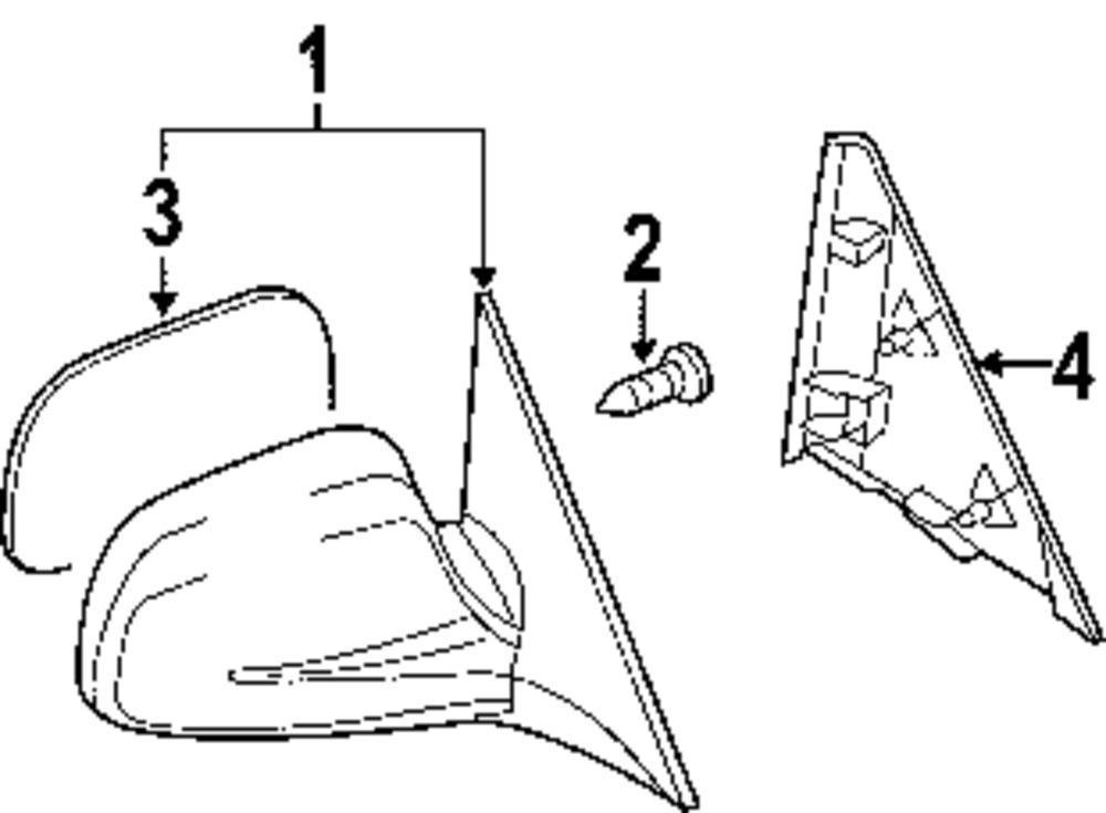 Body Hardware Parts For Pontiac
