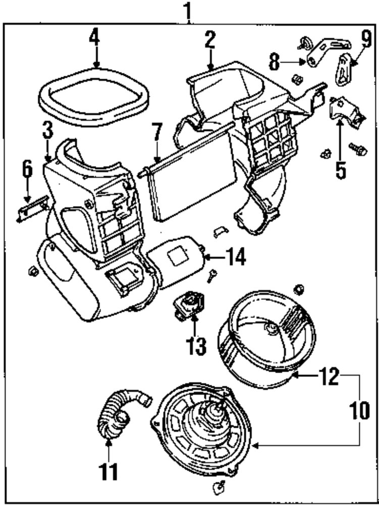 Blower Motor Resistor Wiring