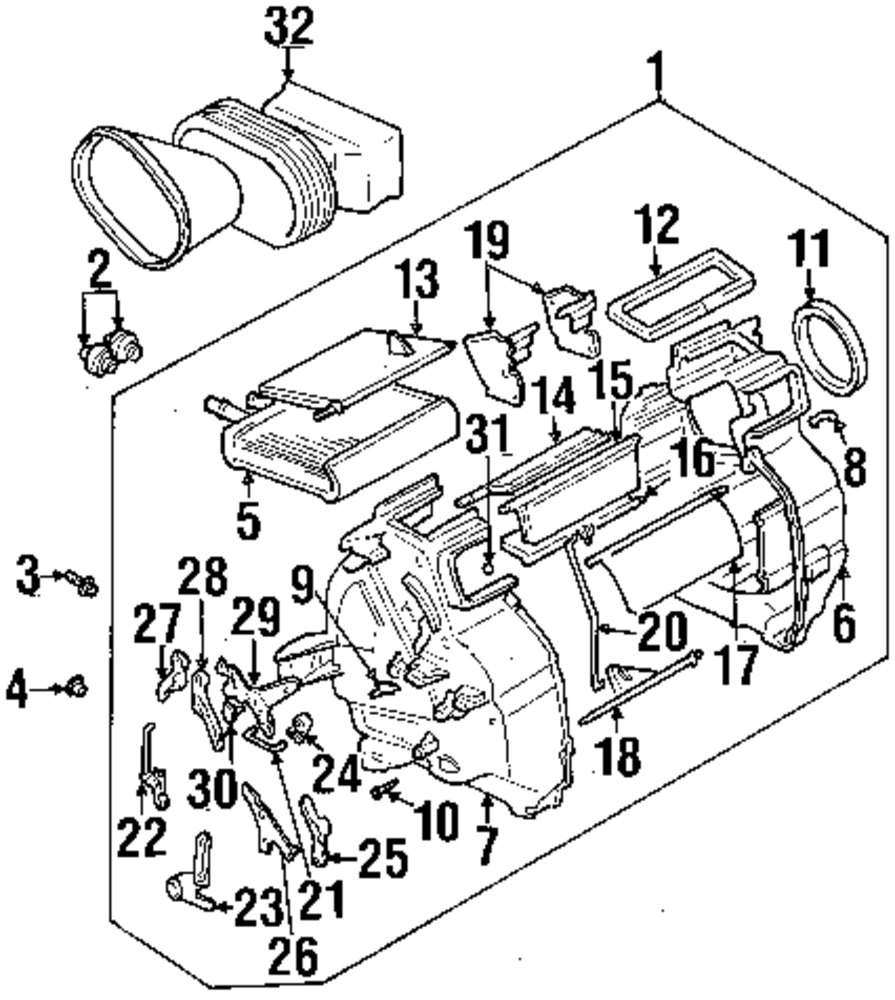 Mopar Direct Parts Dodge Chrysler Jeep Ram Wholesale Retail Hvac Drawing Guide Genuine Suzuki Air Suz 7411350g00