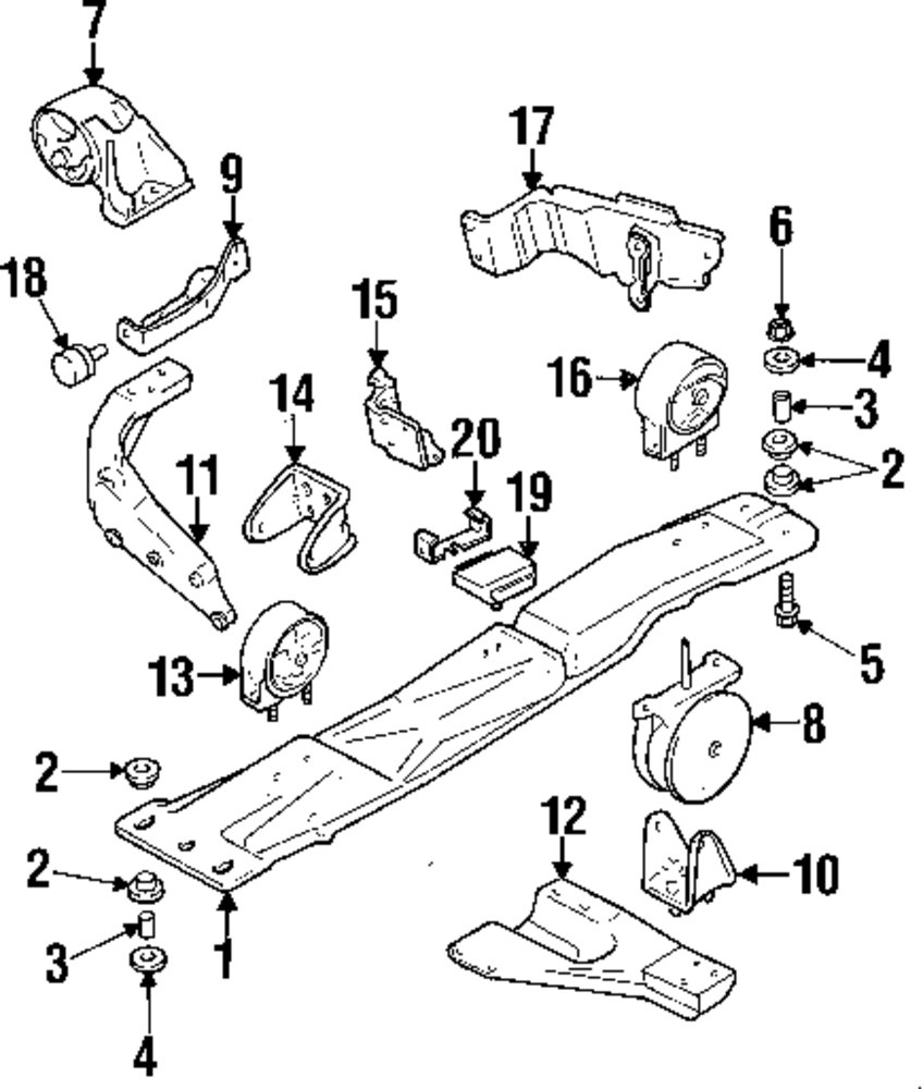 Suzuki Sx4 Engine Mounting Diagram Wiring Transmission Browse A Sub Category To Buy Parts From Mopardirectparts Com 2005 Verona