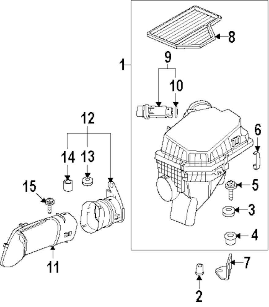 Browse A Sub Category To Buy Parts From 428i Bmw Engine Diagram Genuine Intake Duct 13717834743