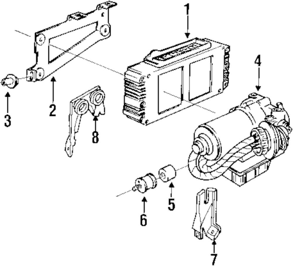 Mopar Direct Parts Dodge Chrysler Jeep Ram Wholesale Retail And Bmw Abs Control Module Wiring Diagram Genuine Bushing 34521159796