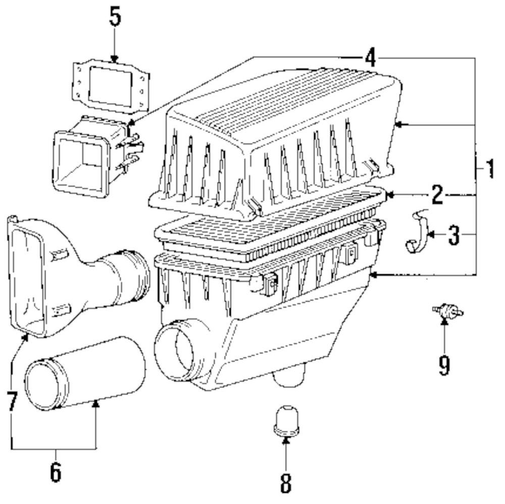 Mopar Direct Parts Dodge Chrysler Jeep Ram Wholesale Retail Bmw 318ti Engine Diagram Intake Genuine Bumper 13711289624