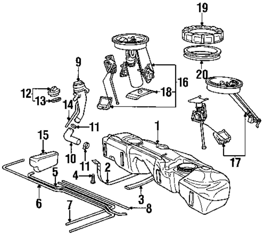 E46 Fuel System Diagram - Wiring Diagram G11