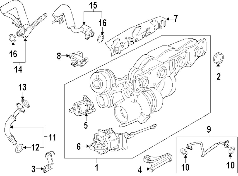 Turbocharger Layout