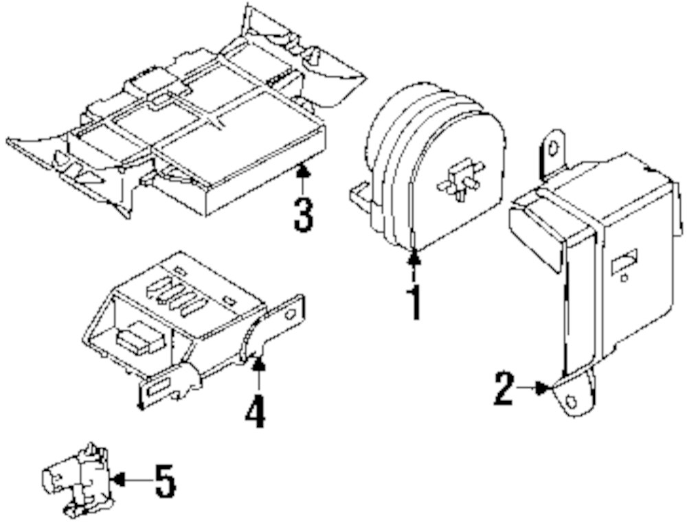 polaris 2500 winch parts diagram