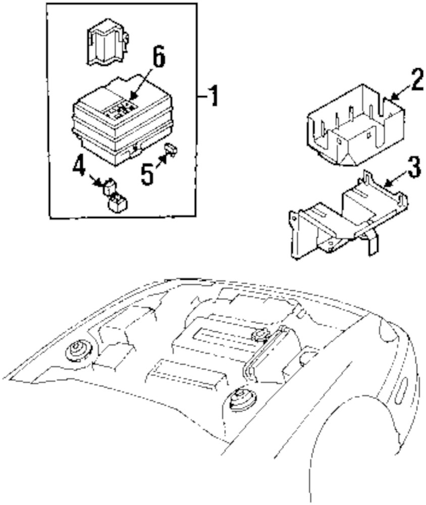 Browse A Sub Category To Buy Parts From Kia Sorento Transfer Box Fuse Genuine Label 1k2a167731
