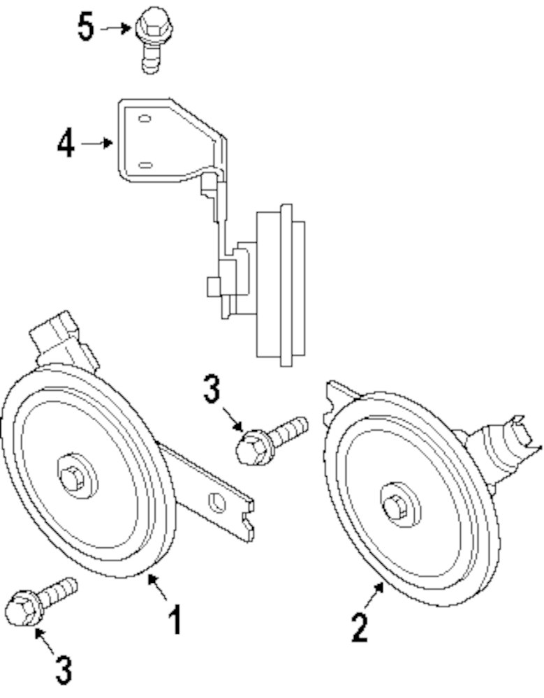 Jeep Horn Diagram