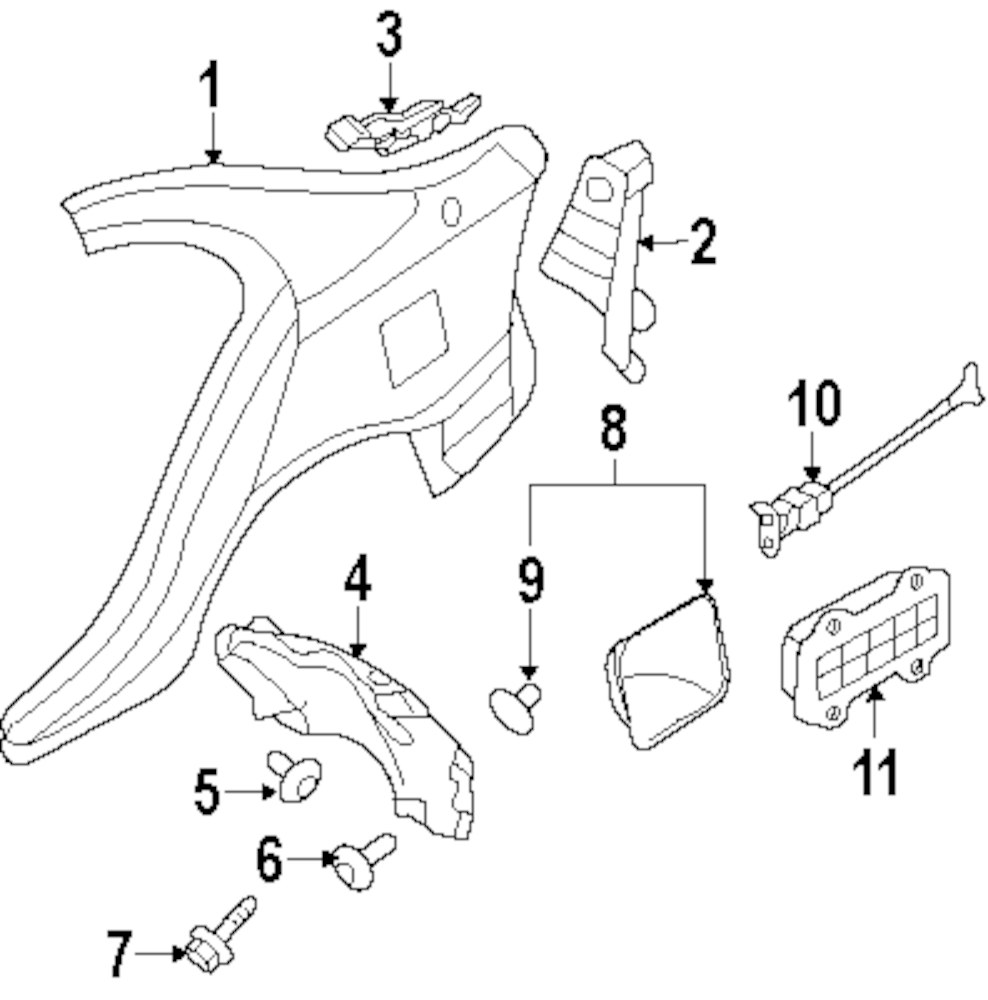 Browse A Sub Category To Buy Parts From Kia Fuel Pressure Diagram Genuine Vent 975102g000