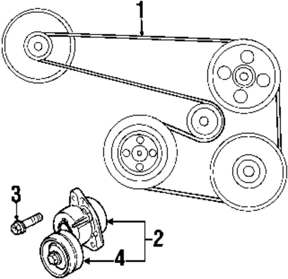 daewoo leganza engine diagram wiring library genuine daewoo tensioner bolt dae 94500937